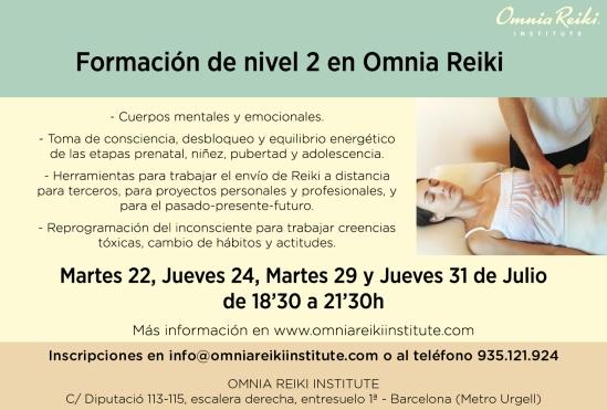 nivel 2 Omnia Reiki